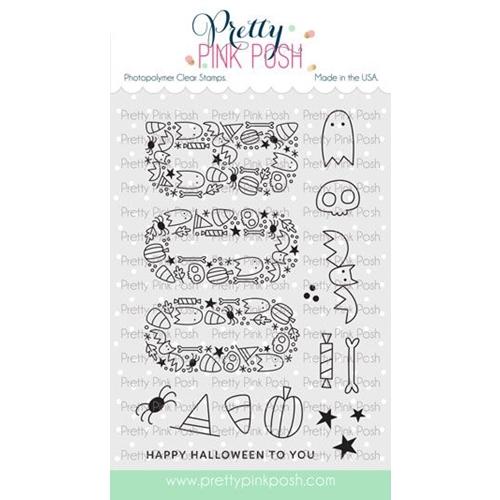 Pretty Pink Posh BOO Clear Stamps Preview Image