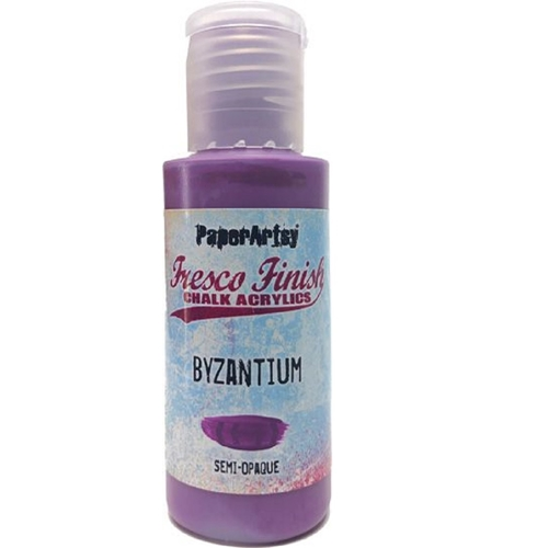 Paper Artsy Fresco Finish BYZANTIUM Chalk Acrylic Paint 1.69oz ff152 Preview Image