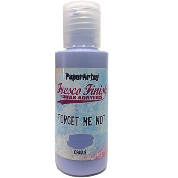 Paper Artsy Fresco Finish FORGET ME NOT Chalk Acrylic Paint 1.69oz ff155