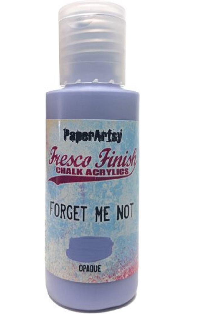 Paper Artsy Fresco Finish FORGET ME NOT Chalk Acrylic Paint 1.69oz ff155 zoom image