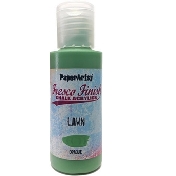 Paper Artsy Fresco Finish LAWN Chalk Acrylic Paint 1.69oz ff156