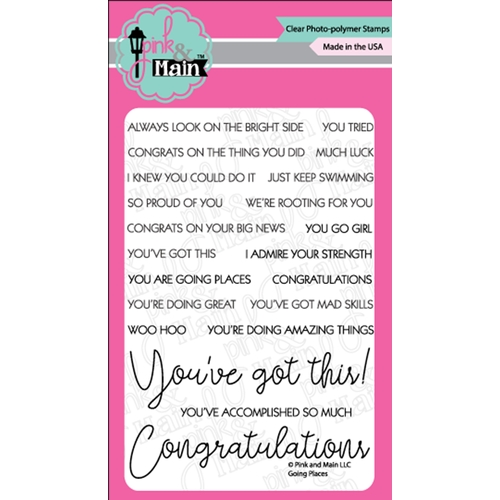 Pink and Main GOING PLACES Clear Stamps PM0360 Preview Image
