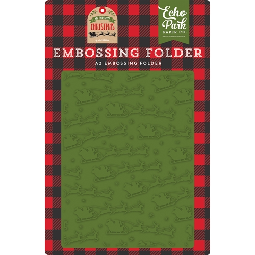 Echo Park TO ALL A GOOD NIGHT Embossing Folder mfc190031 Preview Image