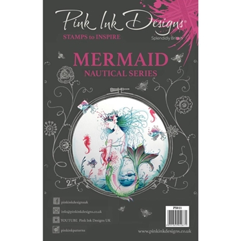 Pink Ink Designs MERMAID A5 Clear Stamps pi011