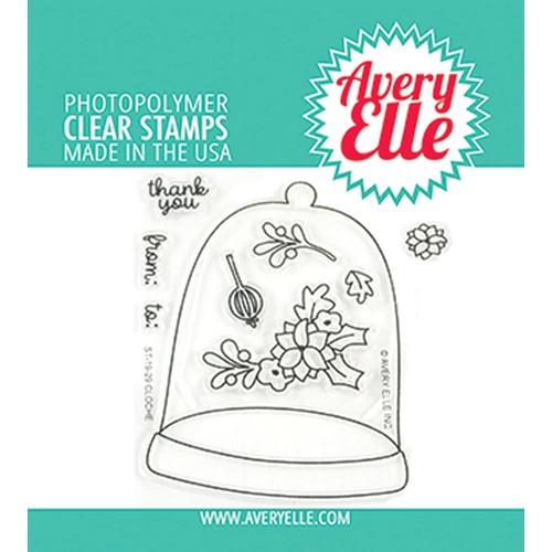Avery Elle Clear Stamps CLOCHE ST-19-29 Preview Image