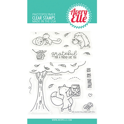 Avery Elle Clear Stamps FALLING FOR YOU ST-19-35 Preview Image