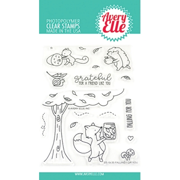 Avery Elle Clear Stamps FALLING FOR YOU ST-19-35