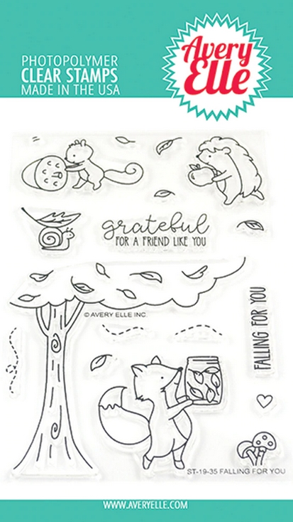 Avery Elle Clear Stamps FALLING FOR YOU ST-19-35 zoom image
