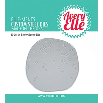 Avery Elle Steel Die SNOW SCENE D-08-14