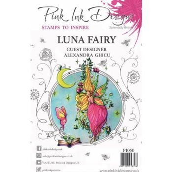 Pink Ink Designs LUNA FAIRY A5 Clear Stamps pi050