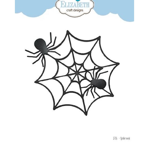 Elizabeth Craft Designs SPIDER WEB Craft Dies 1706 Preview Image