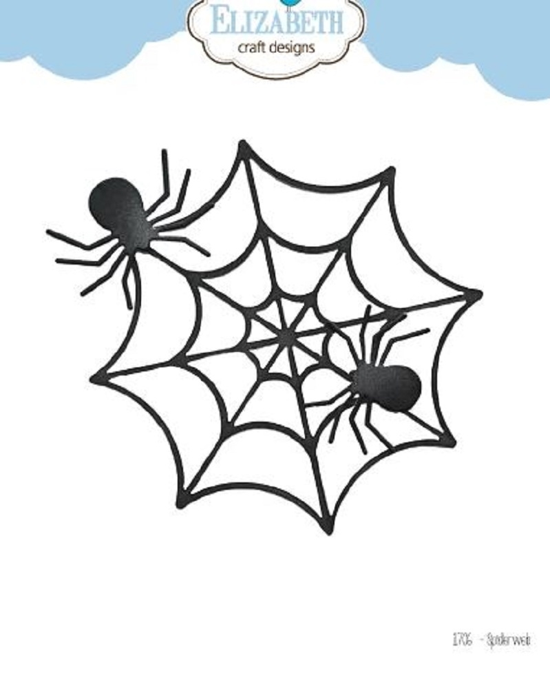 Elizabeth Craft Designs SPIDER WEB Craft Dies 1706 zoom image