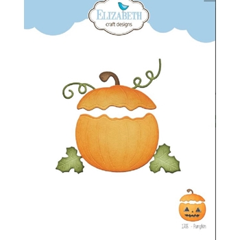 Elizabeth Craft Designs PUMPKIN Craft Dies 1705
