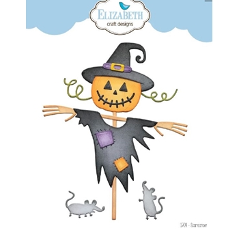 Elizabeth Craft Designs SCARECROW Craft Dies 1704