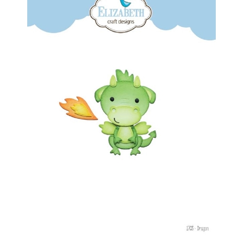 Elizabeth Craft Designs DRAGON Craft Dies 1703 Preview Image