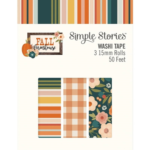 Simple Stories FALL FARMHOUSE Washi Tape 11125 Preview Image