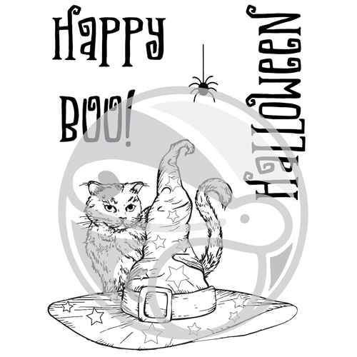 The Rabbit Hole Designs BOO TO YOU Clear Stamps TRH-26 Preview Image