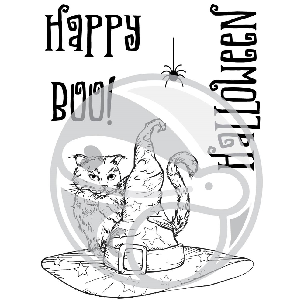 The Rabbit Hole Designs BOO TO YOU Clear Stamps TRH-26 zoom image
