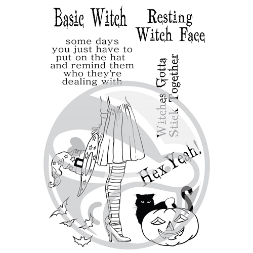 The Rabbit Hole Designs HEX YEAH Clear Stamps TRH-27 Preview Image