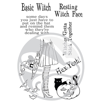 The Rabbit Hole Designs HEX YEAH Clear Stamps TRH-27