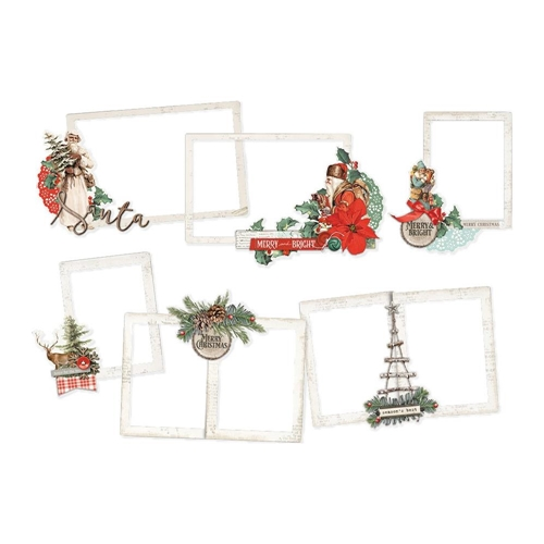 Simple Stories COUNTRY CHRISTMAS Layered Frames 11324 Preview Image