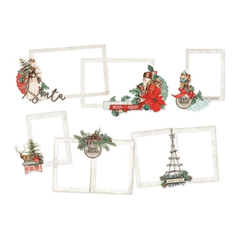 Simple Stories COUNTRY CHRISTMAS Layered Frames 11324