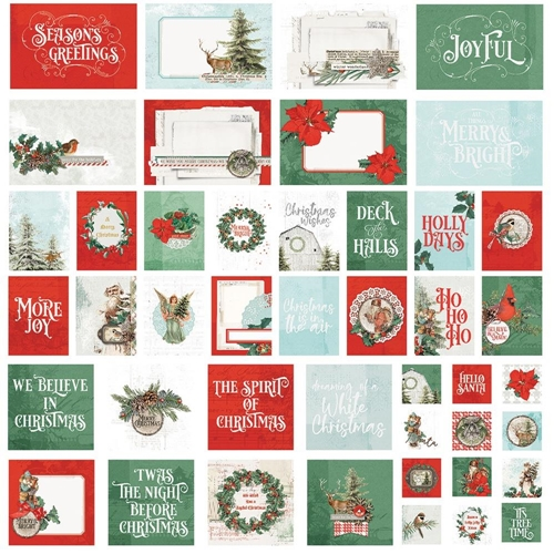 Simple Stories COUNTRY CHRISTMAS Snap Cards 11325 Preview Image