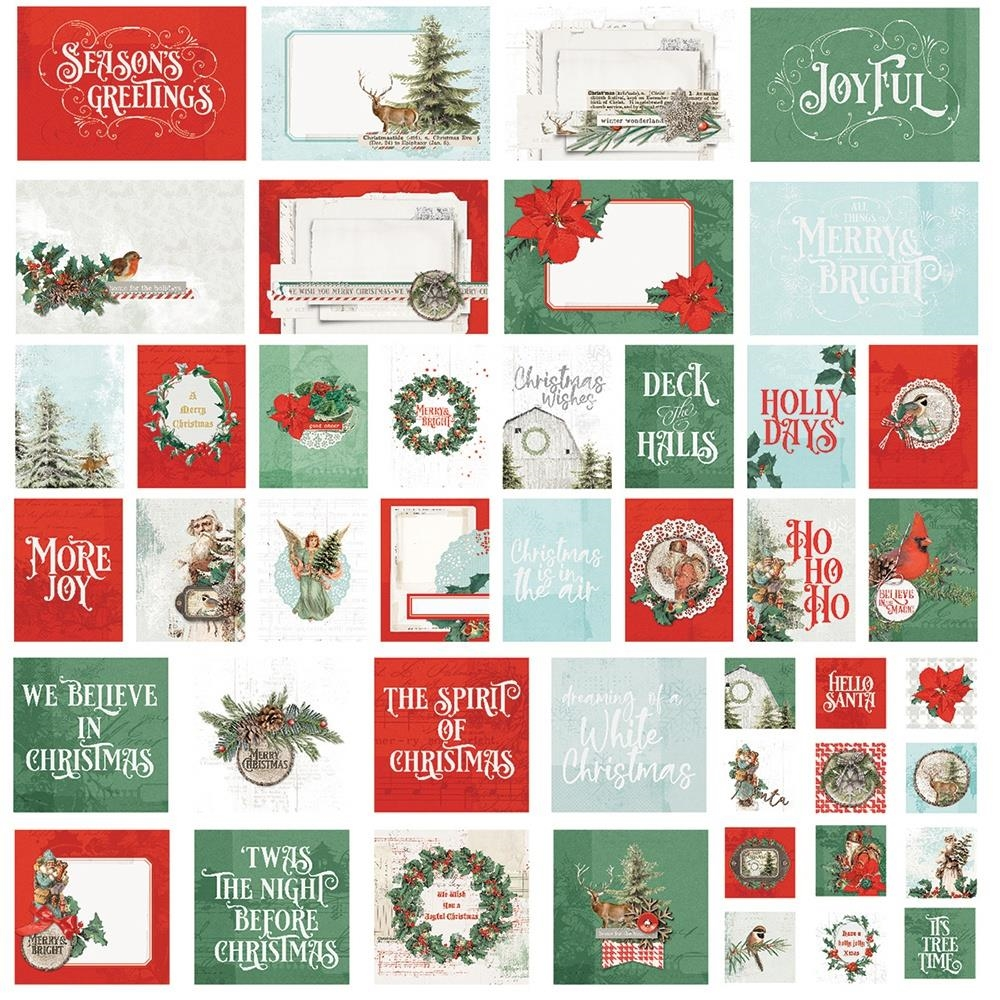 Simple Stories COUNTRY CHRISTMAS Snap Cards 11325 zoom image