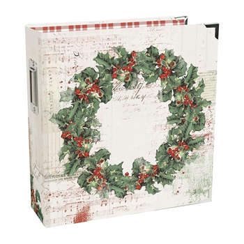 Simple Stories COUNTRY CHRISTMAS 6 x 8 Snap Holiday Binder 11328