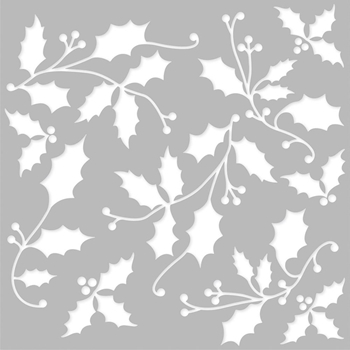 Simple Stories COUNTRY CHRISTMAS 6 x 6 Stencil 11331
