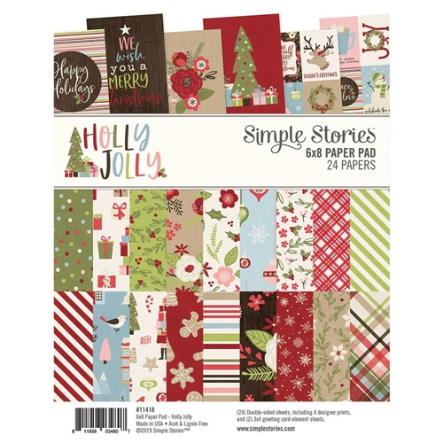 Simple Stories HOLLY JOLLY 6 x 8 Paper Pad 11418 Preview Image