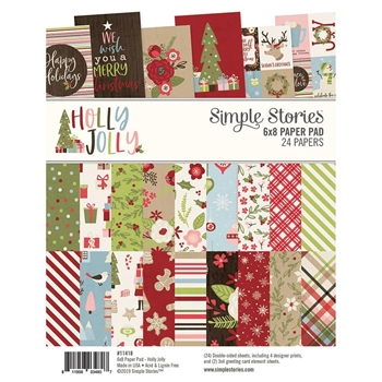 Simple Stories HOLLY JOLLY 6 x 8 Paper Pad 11418