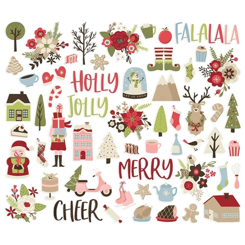 Simple Stories HOLLY JOLLY Bits And Pieces 11420 Preview Image