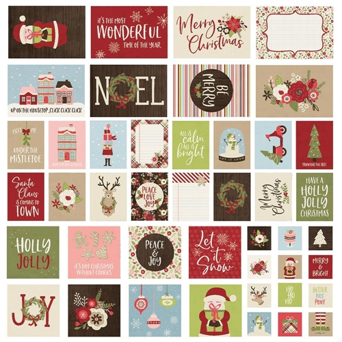 Simple Stories HOLLY JOLLY Snap Cards 11423 Preview Image