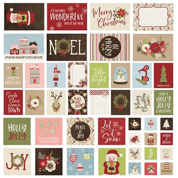Simple Stories HOLLY JOLLY Snap Cards 11423