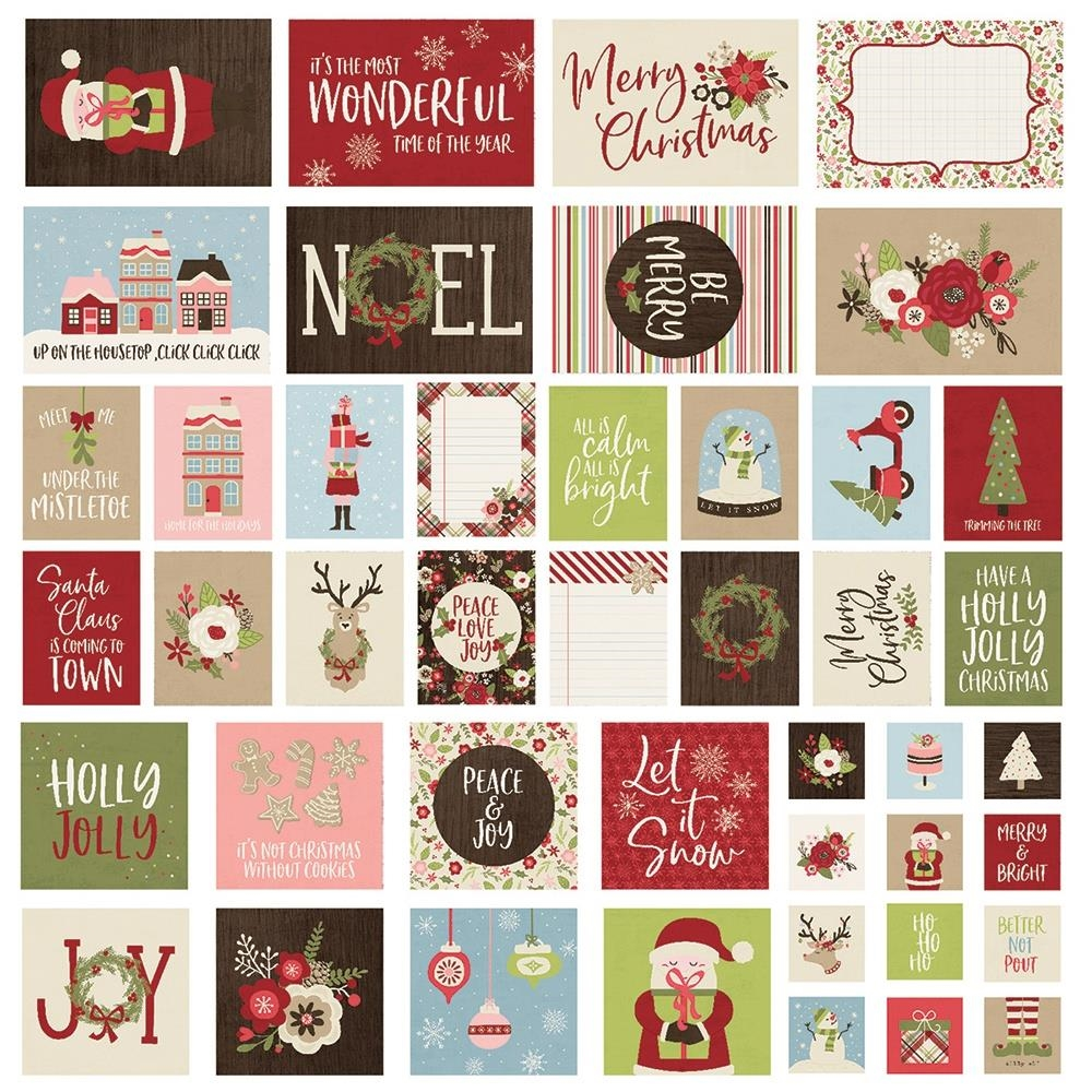 Simple Stories HOLLY JOLLY Snap Cards 11423 zoom image