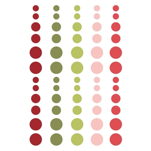 Simple Stories HOLLY JOLLY Enamel Dots 11425 Preview Image