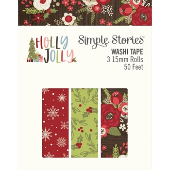 Simple Stories HOLLY JOLLY Washi Tape 11426