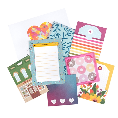 American Crafts Amy Tangerine CARDS AND ENVELOPES Slice of Life 354162 Preview Image