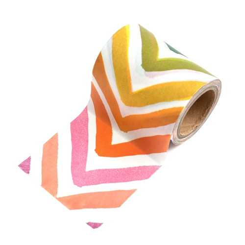 American Crafts Amy Tangerine WASHI TAPE SPOOL Slice of Life 354170 Preview Image