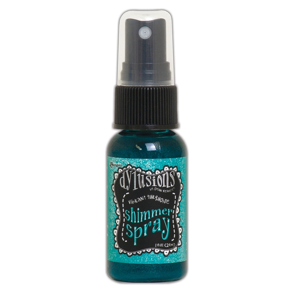 Ranger Dylusions VIBRANT TURQUOISE Shimmer Spray dyh68433 zoom image