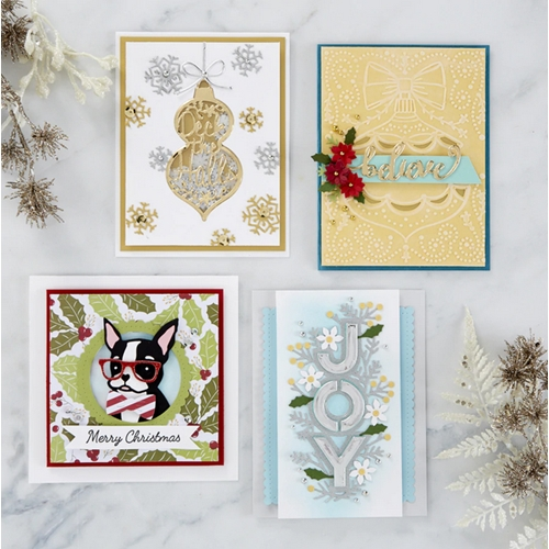 BD-0521 Spellbinders HOLIDAY JOY Project Kit  Preview Image