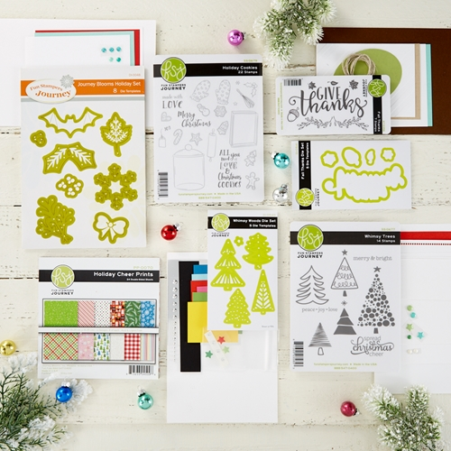 BD-0520 Spellbinders HOLIDAY CHEER Project Kit* Preview Image