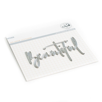 Pinkfresh Studio BEAUTIFUL WORD Die Set pfsa1219
