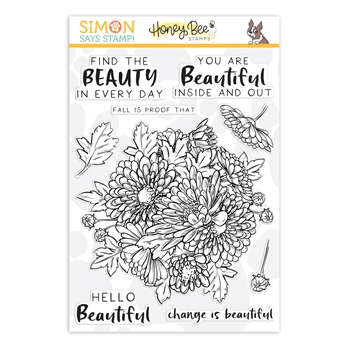 Honey Bee Clear Stamps FALL BEAUTY STAMPtember 2019 Exclusive