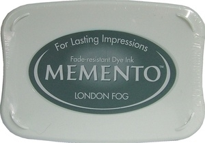 Tsukineko Memento Ink Pad LONDON FOG ME-901