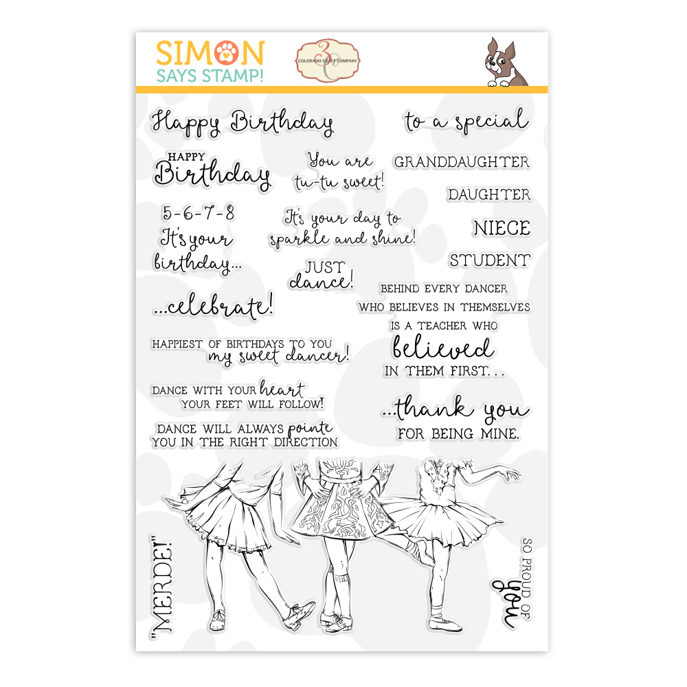 Colorado Craft Company Clear Stamps LOVELY LEGS STAMPtember 2019 Exclusive zoom image