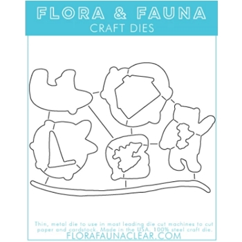 Flora and Fauna POLAR BEAR FUN Dies 30118