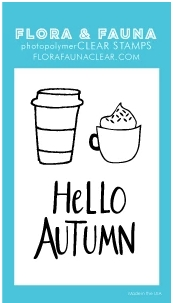 Flora and Fauna MINI HELLO AUTUMN Clear Stamps 20278 Preview Image