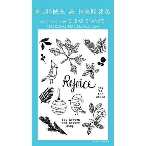 Flora and Fauna GREENERY AVIARY Clear Stamps 20267 Preview Image